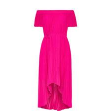Melli Off-Shoulder Dipped Hem Dress