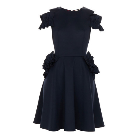 Deneese Ruffle Dress, ${color}