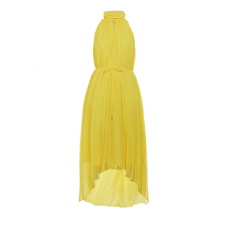 Nadette Pleated Collar Maxi Dress, ${color}
