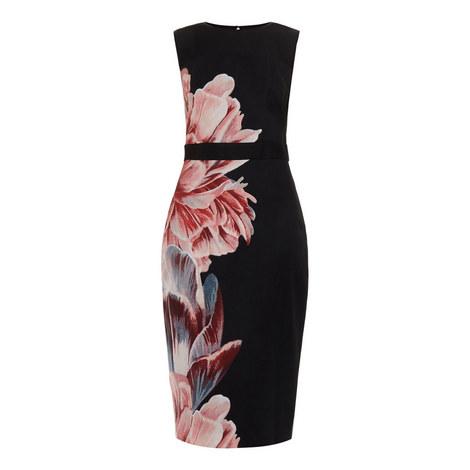 Xanadu Tranquillity Mesh Panel Dress, ${color}