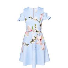 Effrae Harmony Cold Shoulder Dress