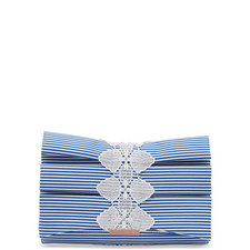 Biancca Box Pleat Evening Bag