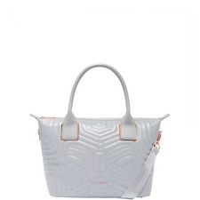 Carisee Reflective Quilted Tote Bag Small