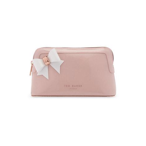 6d0d61719d571d TED BAKER Aubrie Bow Makeup Bag