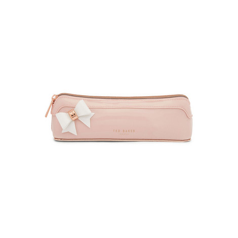 Everlee Bow Pencil Case, ${color}