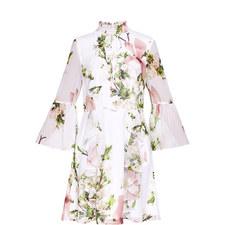 Beccaa Harmony Ruffle High Neck Dress