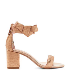 Kerria Bow Block Heel Sandals