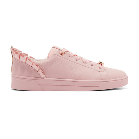 Astrina Ruffle Detail Trainers, ${color}