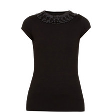Charre Bow Trim T-Shirt