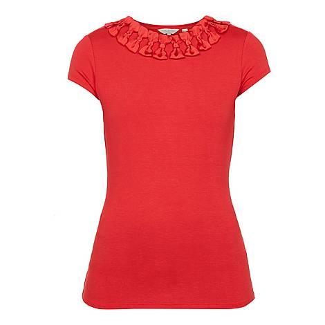 Charre Bow Neck T-Shirt, ${color}