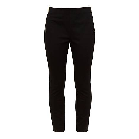 Cemelia Skinny Ankle Grazer Trousers, ${color}