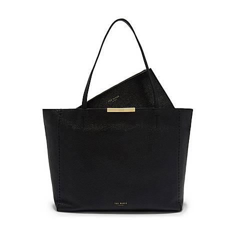 Caullie Bow Detail Shopper Bag, ${color}