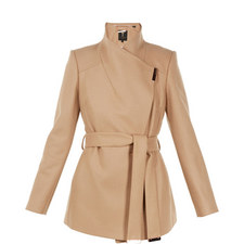 740ba2982 Rytaa Short Wool Wrap Coat. Promotion TED BAKER ...