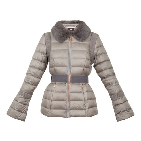 Yelta Quilted Down Jacket, ${color}