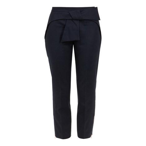 Betha Bow Waist Trousers, ${color}