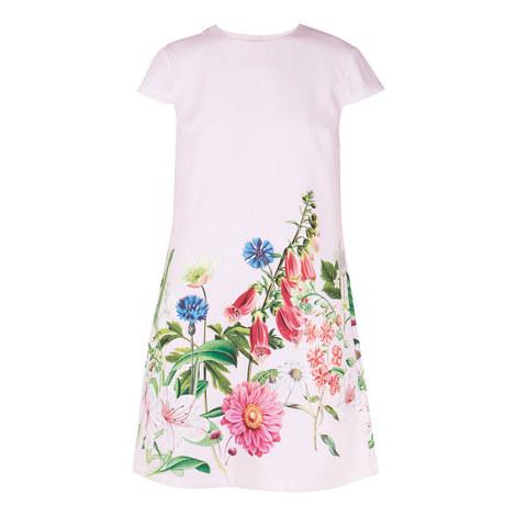Gemmma Florence Print Swing Dress, ${color}