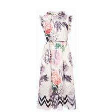 Nessah Palace Gardens Ruffle Dress