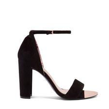 Phanda Suede Heeled Sandals