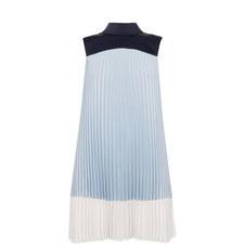 Elweiss Colour-Block Pleated Dress