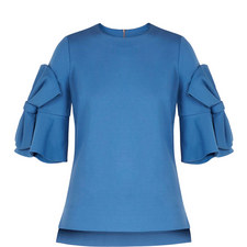 Soaf Statement Bow Sleeve Top