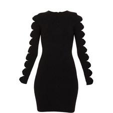 Jayney Knitted Sleeve Bodycon Dress