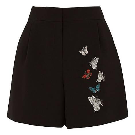 Syennaa Narrnia Embroidered Shorts, ${color}