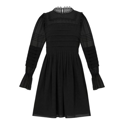 Arrebel Elegant  Volume Sleeve Dress, ${color}