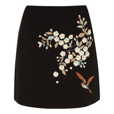 Maiyaa Graceful Crêpe Skirt, ${color}