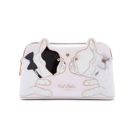 Aria Bulldog Make Up Bag, ${color}