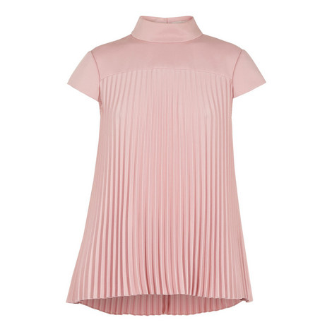 Laurra Pirouette Pleated Top, ${color}