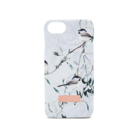 Rain Mistletoe Kiss iPhone 8 Case, ${color}