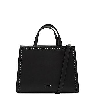 Stephh Micro Stud Shoulder Bag