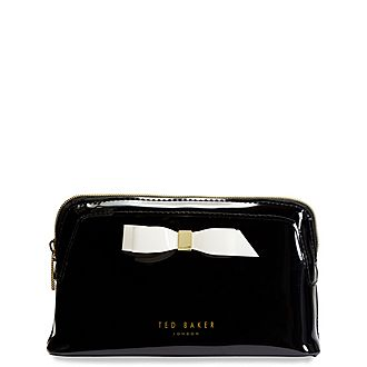 Cahira Bow Makeup Bag