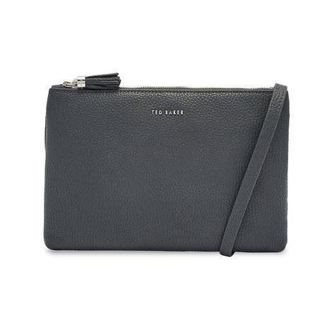 Maceyy Tassel Leather Crossbody Bag, ${color}
