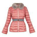 Yelta Faux Fur Collar Down Jacket, ${color}