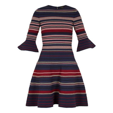 Tayiny Striped Ottoman Dress, ${color}