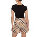 Charre Bow Neck Trim Detail T-Shirt, ${color}