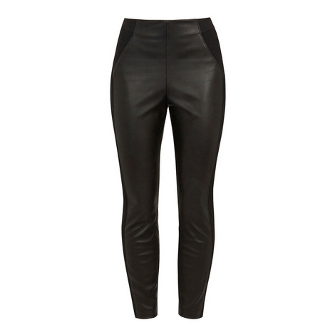 Priala Faux Leather Leggings, ${color}