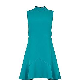 Cormier Cut Out Fluted Shift Dress