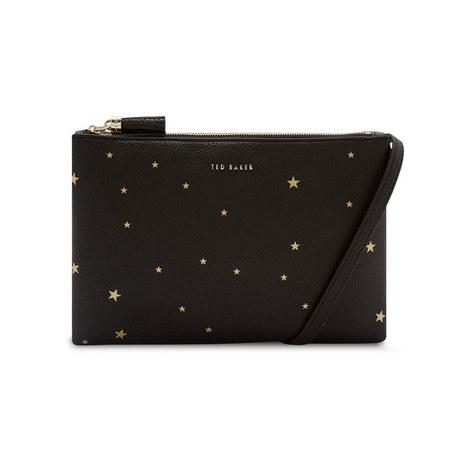 fe0288ea681f Soline Star Embossed Crossbody Bag