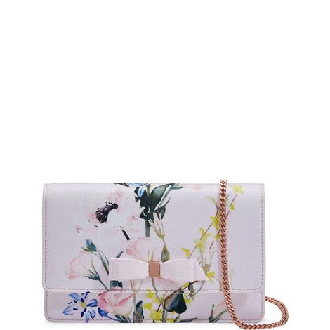 Hania Elegant Bow Evening Bag, ${color}