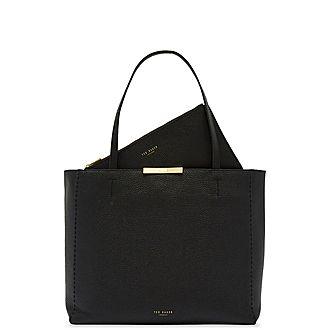 Clarkia Soft Leather Shopper Bag