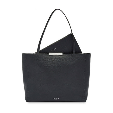 Clarkia Soft Leather Shopper Bag, ${color}