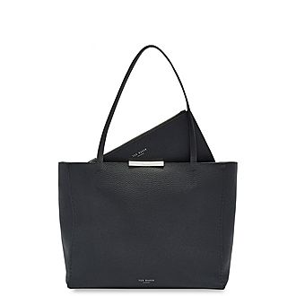 Clarkia Soft Leather Shopper Bag