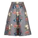 Bevly Oracle Drop Hem Skirt, ${color}