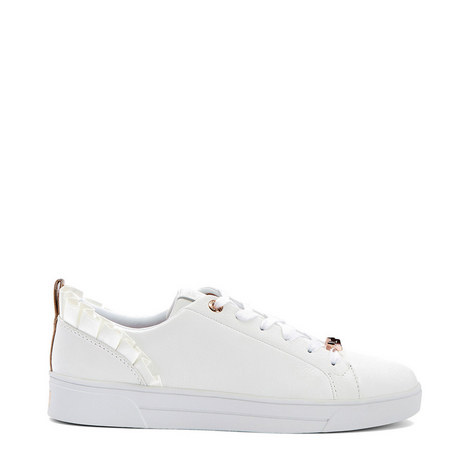 Astrina Ruffle Detail Tennis Trainers, ${color}
