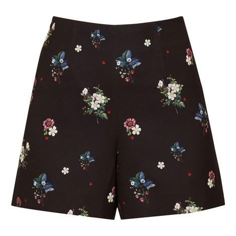 Naomii Oracle Ditsy Shorts, ${color}