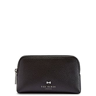 Panse Leather Make-Up Bag