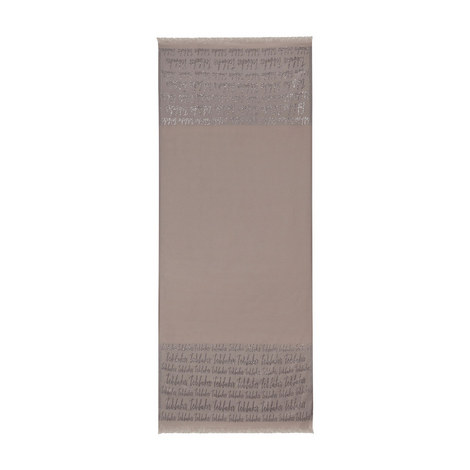 Teddii Ted Baker Script Long Scarf, ${color}