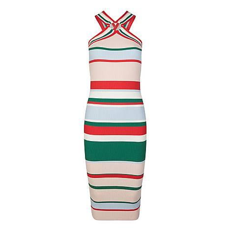 Lyndiaa Tutti Frutti Bodycon Dress, ${color}